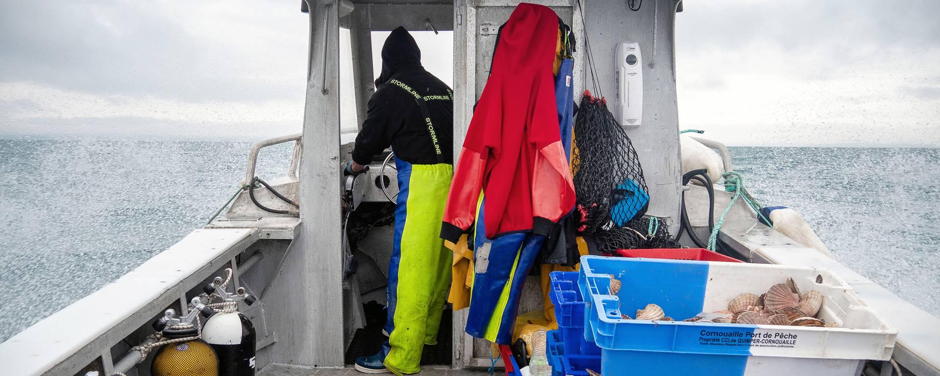 Pêche de la Coquille Saint Jacques - Destination Baie de Saint Brieuc Paimpol Les Caps