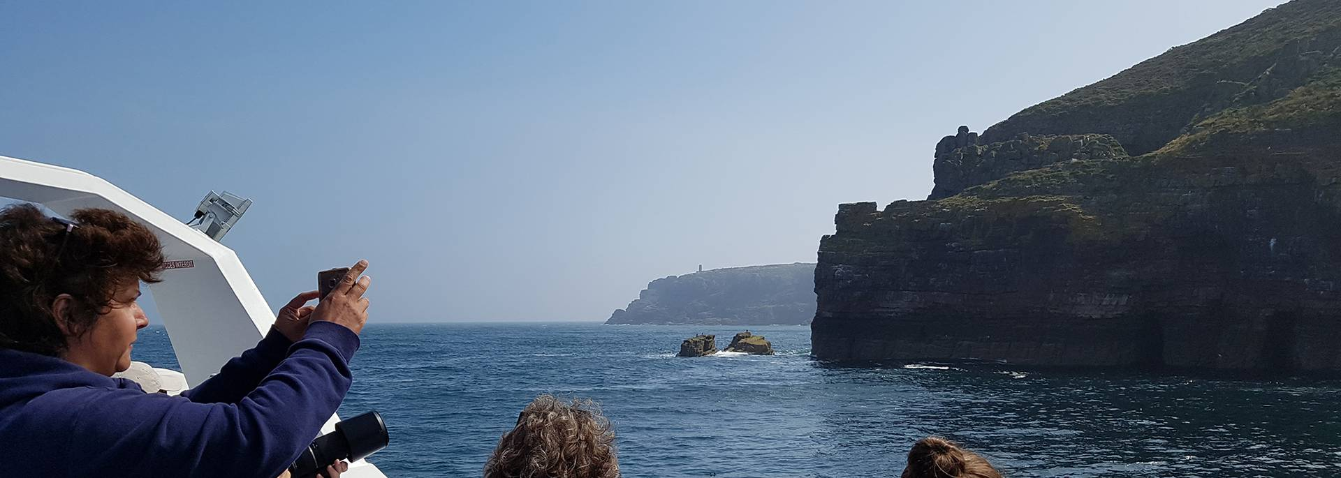 Cap Fréhel par la mer
