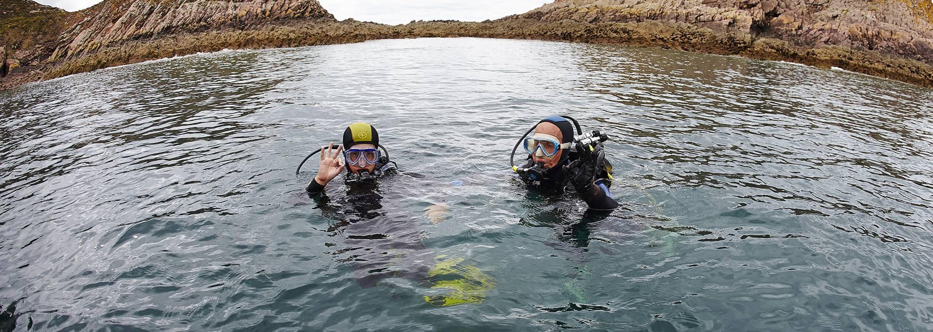Plongée au Cap d'Erquy