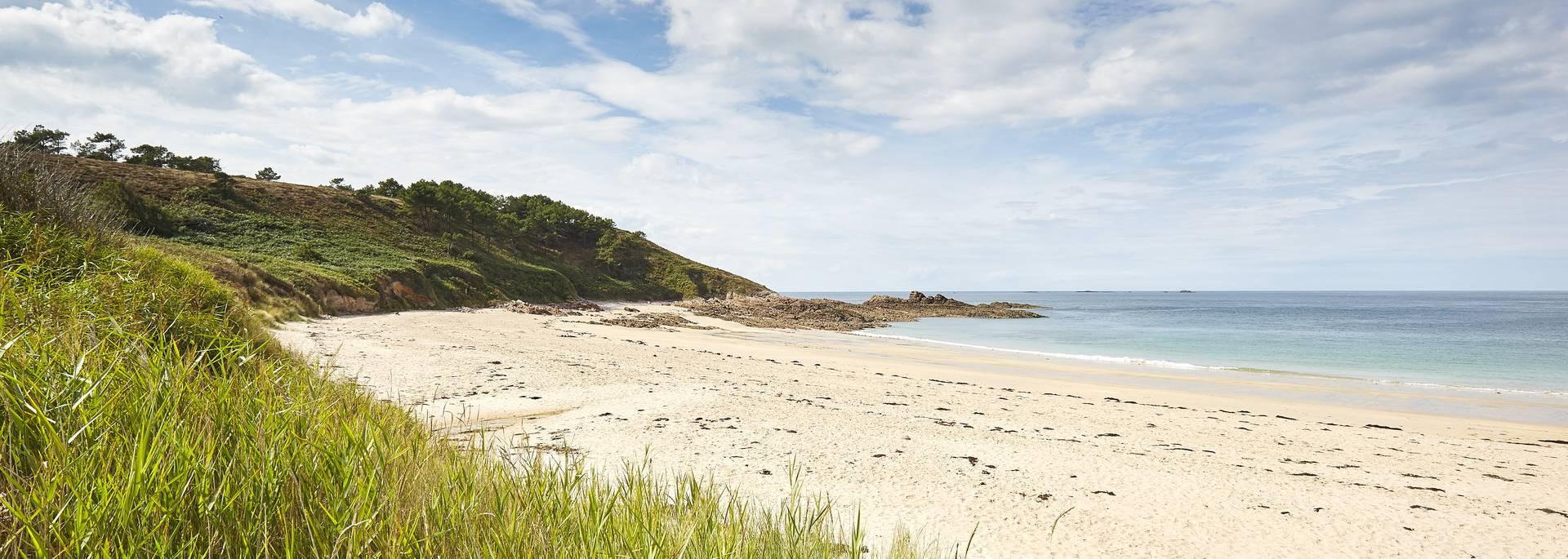 plages sauvages au cap d'erquy