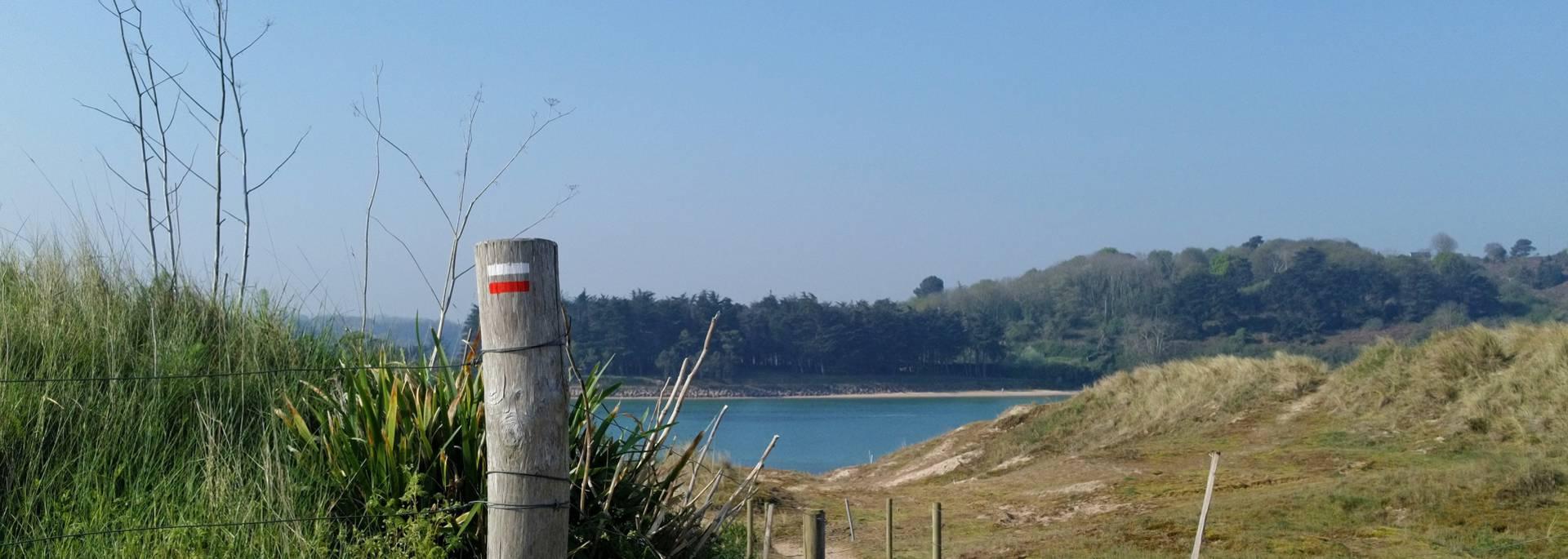 La lagune de Sables d'Or les Pins ©A.Voka