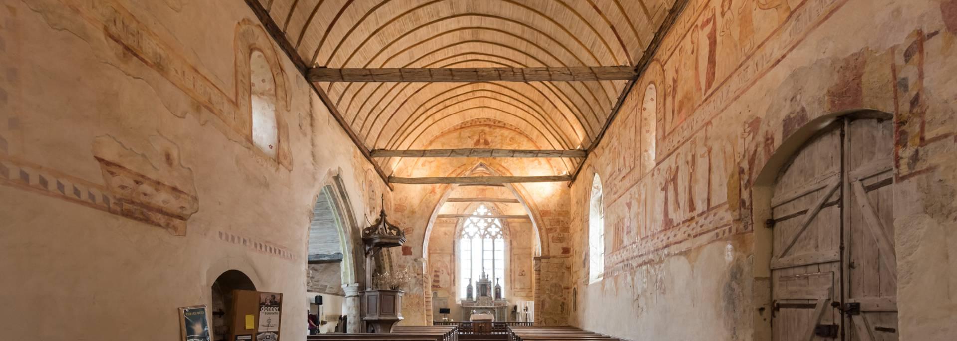 L'église Saint Gobrien à Morieux