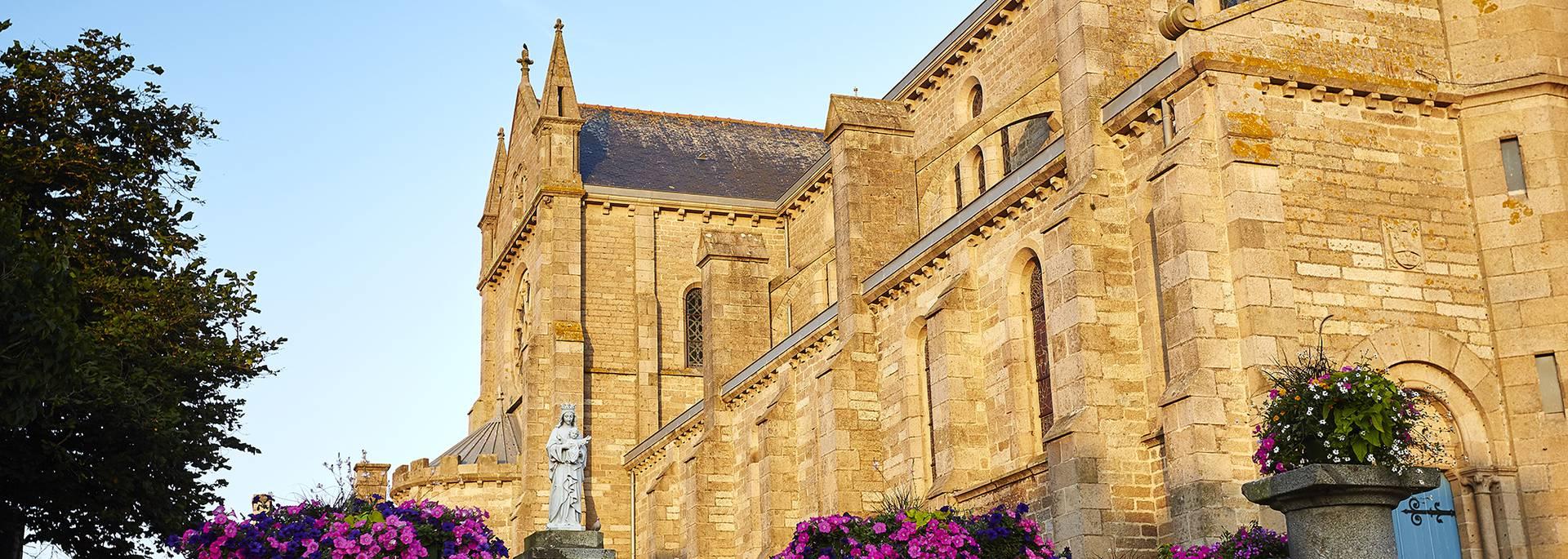 L'église de Pléneuf