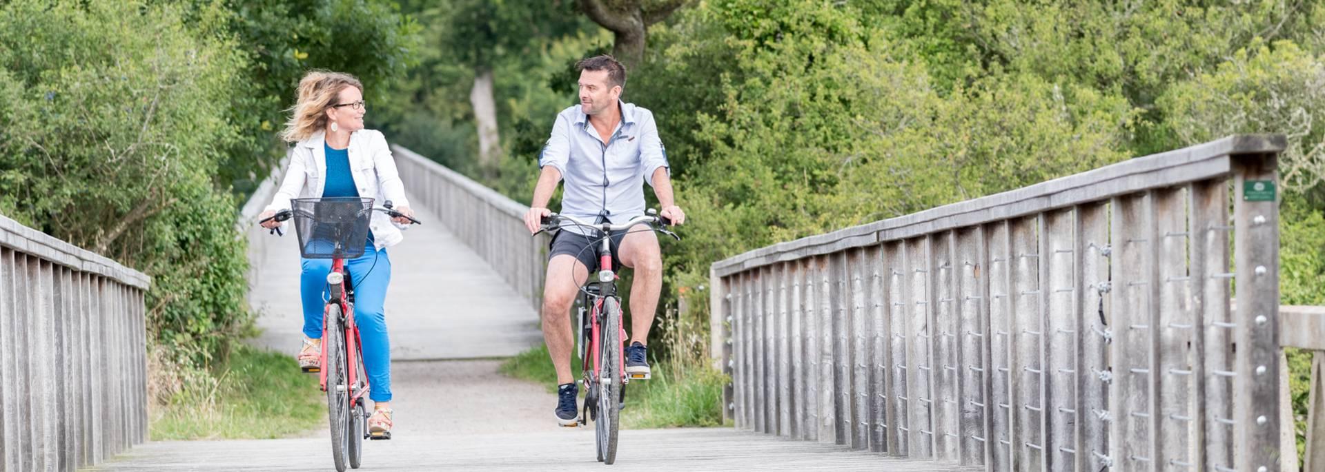À vélo en amoureux