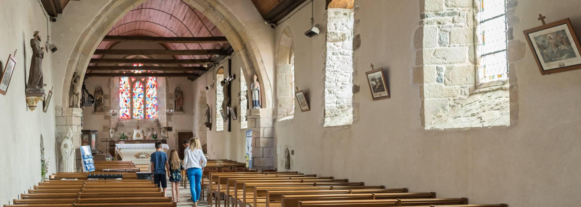 L'église de Plurien ©E. Berthier