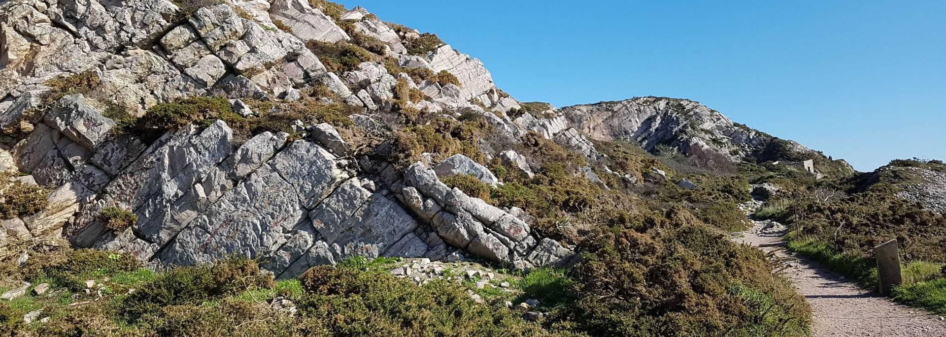 Le sentier des carriers au Cap d'Erquy ©C.Pladys
