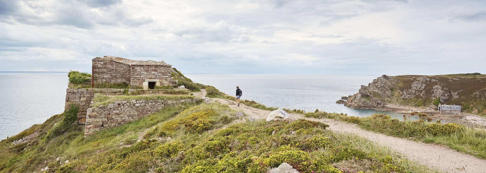 La pointe du Cap d'Erquy ©A.Lamoureux