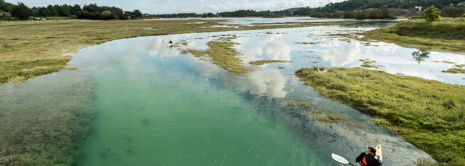 La lagune de Plurien