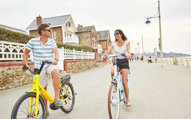Vélo à assistance électrique Pléneuf-Val-André