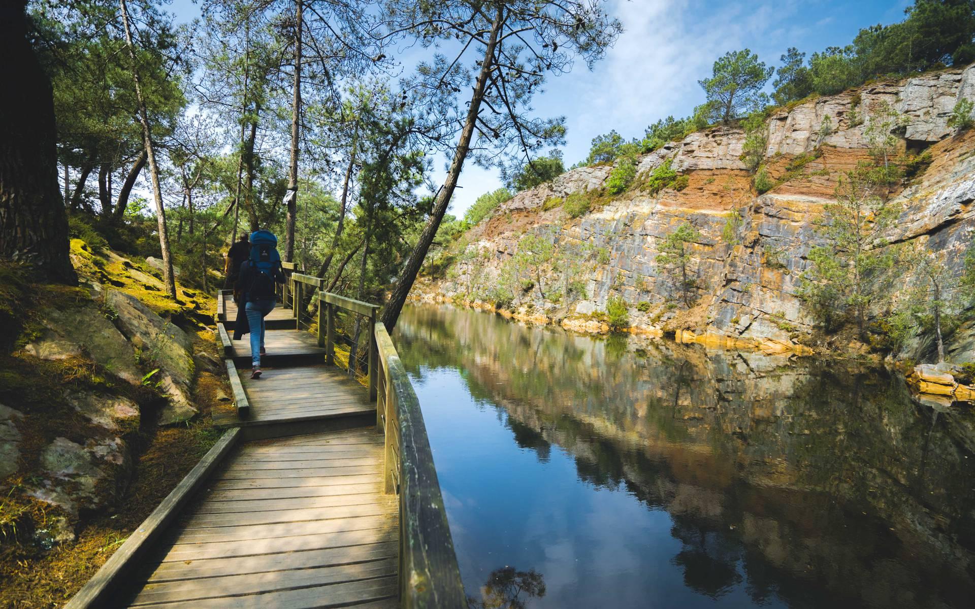 Lacs bleus Erquy ©T.Poriel