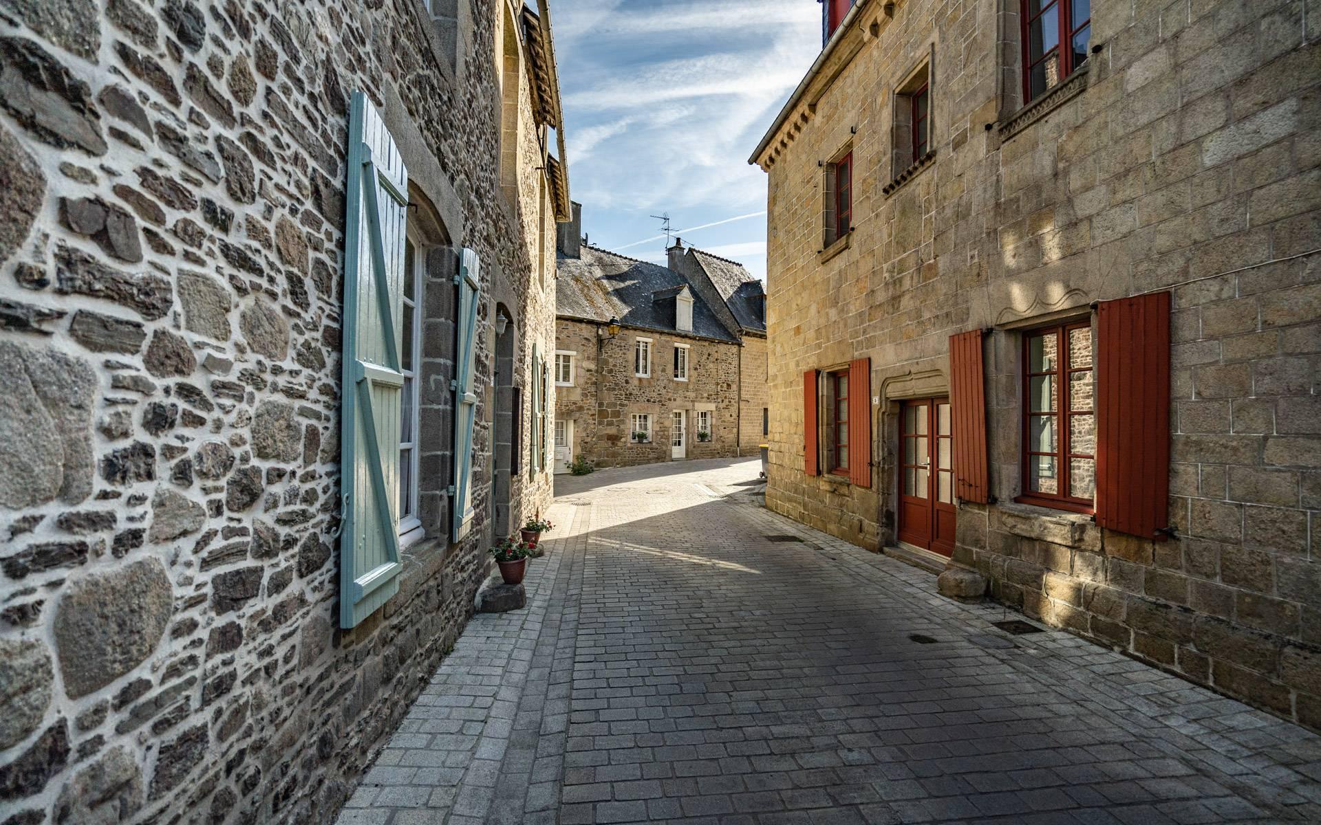 Petite Cité de Caractère Jugon-les-Lacs ©T.Poriel