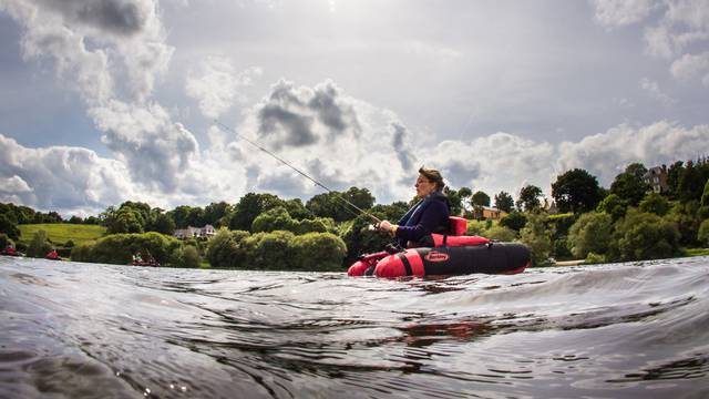 Float-tube à Jugon-les-Lacs