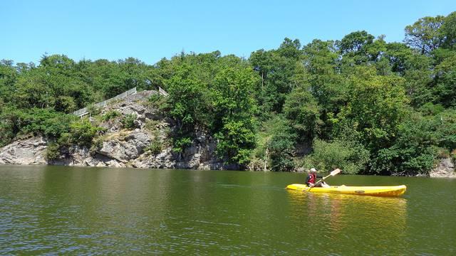Kayak en eau douce