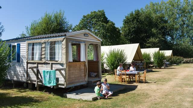 Camping à Pléneuf-Val-André