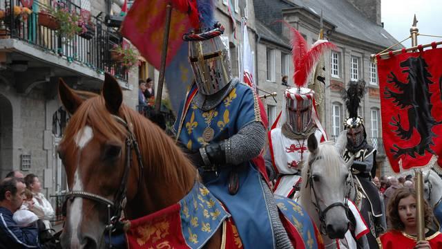 La fête médiévale à Moncontour