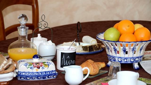 petit déjeuner chambres d'hôtes à Moncontour