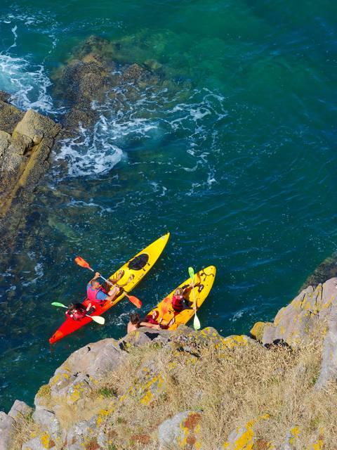 Kayak de mer au Cap d'Erquy