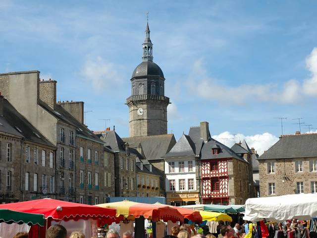 Place du marché - Lamballe