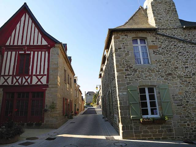 Maison de la Tête Noire - Rue du Four - Jugon-les-Lacs