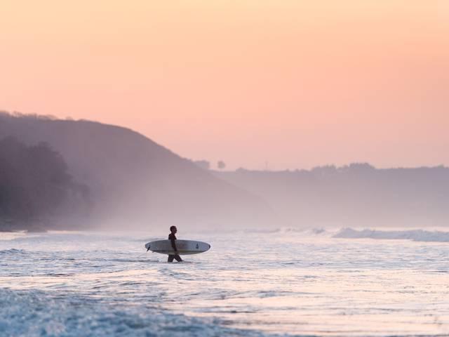 Surf à Saint Pabu
