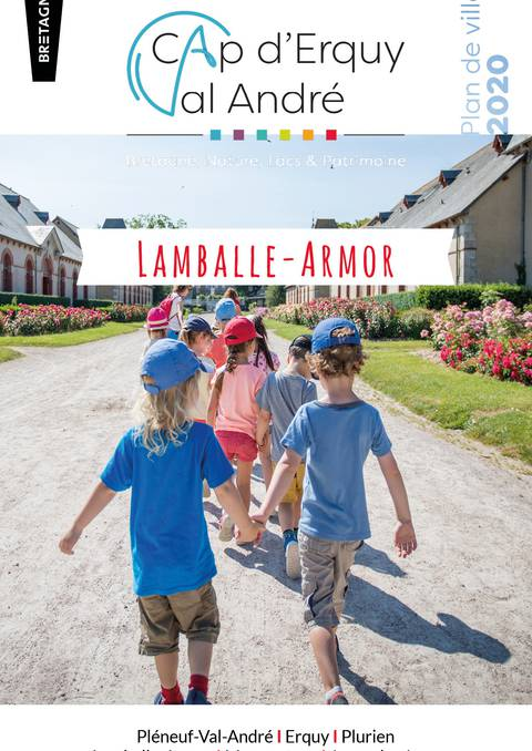 Stadtplan von Lamballe