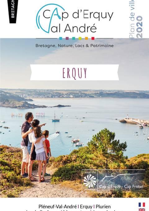 Stadtplan von Erquy und Plurien