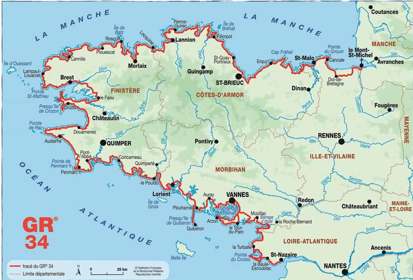 Le GR34, 2000km de randonnée en passant par Pléneuf-Val-André et Erquy - ©E.Berthier