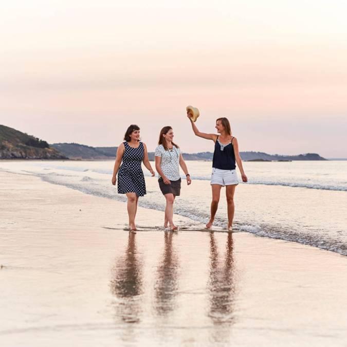 Balade plage de Caroual à Erquy